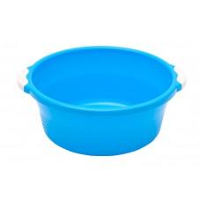 Таз пласт. 10л/Волна/синий/Элластик-пласт