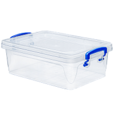 Контейнер пласт. д/хран. квадрат. Fresh Box slim/10,0л/Эльфпласт/1/20