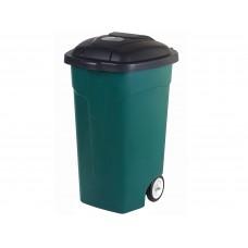 Бак для мусора 105л на колесах/Эльфпласт
