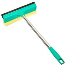 Окномойка 25см со стальной ручкой/зеленая/KFC002/VETTA1/50 /ГЦ