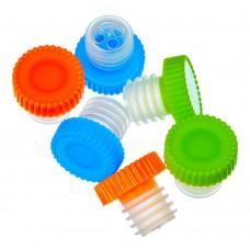 Набор пробок для бутылок 6шт пластик 2,5*2,5см/ГЦ