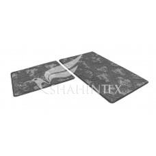Набор ковриков  60*100+60*50см/V002/VINTAGE/серый 50/SHAHINTEX