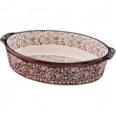 Блюдо для запекания керамика 33*22 см h8 см /Арти-М