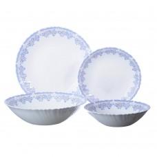 Набор столовой посуды 19 пр, опаловое стекло/Аполлон2/MILLIMI/ /ГЦ