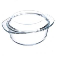Кастрюля стекло жаропрочное 2,5л/27х22х13см/с крыш./SATOSHI /ГЦ