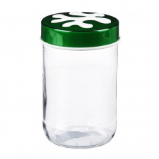 Банка для сыпучих продуктов/стекло/660мл/Пазл/HEREVIN/ГЦ