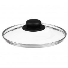 Крышка стеклянная с метал ободком в сборе 20см /ГЦ