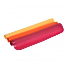 Коврик термостойкий для противня, силикон, 38х28х0,1см, 3 цвета /ГЦ