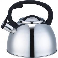 Чайник со свистком 2,5л НЖС индукционное дно/Арти-М