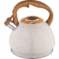 Чайник 3л со свистком термоаккумулирующее дно индукция /Арти-М