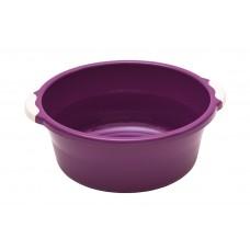 Таз пласт.  6л/Волна/фиолетовый/Элластик-пласт