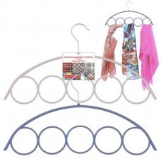 Вешалка для шарфов и платков. 5 колец VL26-65/41,5х1х22,8/Мультидом