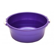 Таз пласт. 10л/Волна/фиолетовый/Элластик-пласт