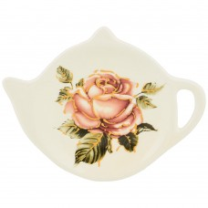 Подставка под чайные пакетики керамика /Корейская Роза/Арти-М
