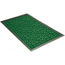 Коврик придв. резин. Ворс  45*75см/прямоуг/MX10/зеленый/SHAHINTEX/1/20