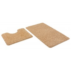 Набор ковриков 60*100+60*50см/FRIZZ/icarpet/бисквит 34/SHAHINTEX/1/15
