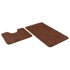 Набор ковриков 60*100+60*50см/FRIZZ/icarpet/брауни 8/SHAHINTEX/1/15