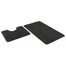 Набор ковриков 60*100+60*50см/FRIZZ/icarpet/графит 62/SHAHINTEX/1/15