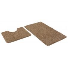 Набор ковриков 60*100+60*50см/FRIZZ/icarpet/латте 9/SHAHINTEX/1/15