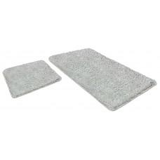 Набор ковриков  60*90+60*50см/LAMA/белый 59/SHAHINTEX/1/10
