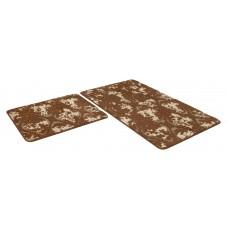 Набор ковриков 50*80+50*50/SHАHINTEX VINTAGE SH V002/шоколадный 37/SHАHINTEX/1/15
