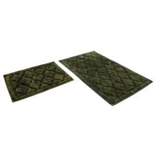 Набор ковриков 60*100+60*50см/BAMBOO LUX/хаки 73/SHAHINTEX/1/10