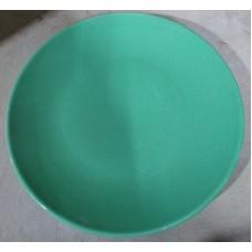 Тарелка  210/декор 1/зеленый/Соната/МИН 10/Кубаньфарфор