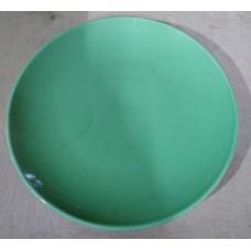 Тарелка  260/декор 1/зеленый/Соната/МИН 10/Кубаньфарфор