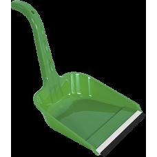 Совок для мусора пластиковый с ластиком 23,5*22,5*23,5см./Ласточка/Эльфпласт/1/55
