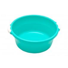 Таз пластиковый 6л. 34*30,5*12,5см./бирюзовый/Волна/Элластик пласт/1/25