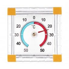 Термометр оконный Биметаллический -50+50/картон/блистер/ТББ/ГЦ