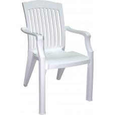 Кресло 55*65см. h-89см./белый/Элит/Милих/б/уп.