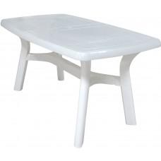 Стол прямоугольный 135*80,5*73 см./белый/Элит/Милих/б/уп.