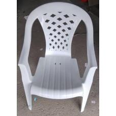 Кресло 57*55см. h-82,5см./белый/Комфорт/Милих/б/уп.
