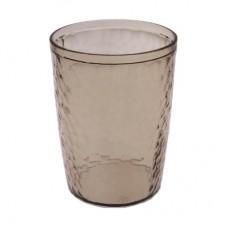 Стакан в ванную комнату 350мл./прозрачно-бежевый/Natural stone/Пласт Тим/1/20