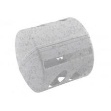 Держатель для туалетной бумаги 13,5*13*12,5см./мрамор/Aqua/BranQ/Пластик Репаблик/1/30