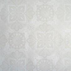 Клеенка ПВХ на нетканой основе Kikka-Milla 140см*20м 201/9 Белый шелк /ИТАЛИЯ/GIMY