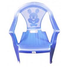 Стул детский пластиковый 34*36*49,5см./голубой перламутр/Малыш/Росспласт/б/уп.