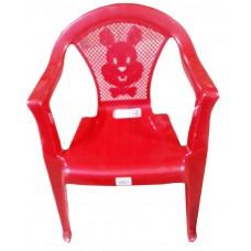 Стул детский пластиковый 34*36*49,5см./красный перламутр/Малыш/Росспласт/б/уп.