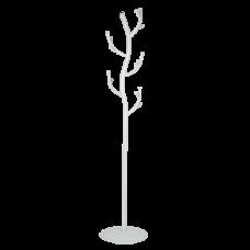Вешалка д/одежды напольная Дерево/белое серебро/1810*380/ЗМИ/1/1