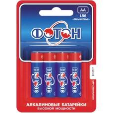 Батарейка LR06 ОP4 /ФОТОН/4/мин40/1/40/480