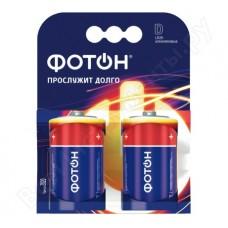 Батарейка LR20 ОP2 /ФОТОН/2/мин2/1/20/120