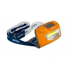 Фонарь налобный светодиод. SH-600/3хLR03/ФОТОН/1/10/120