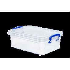 Контейнер пластиковый для хранения 2л. 25,5*17,3*8,5см./прозрачный/Fresh Box slim/Эльфпласт/1/48