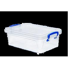 Контейнер пластиковый для хранения 3,8л. 30,8*20,5*10,5см./прозрачный/Fresh Box slim/Эльфпласт/1/36