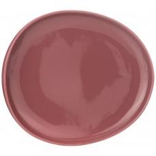 Тарелка обеденная/23*20,5см/брусничная/Fusion/мин4/Арти-М