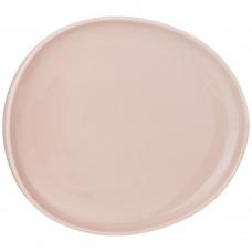 Тарелка обеденная/23*20,5см/пудровая/Fusion/мин4/Арти-М