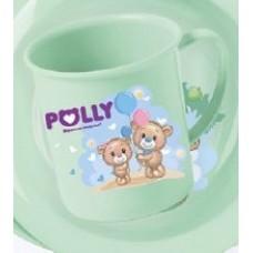 Кружка с рисунком Polly 0,2л/Полимербыт