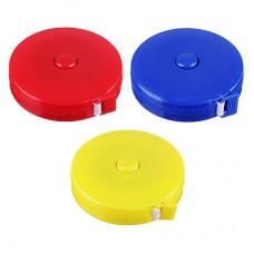 Сантиметр портновский 1,5м, в рулетке, пластик, ПВХ/ГЦ