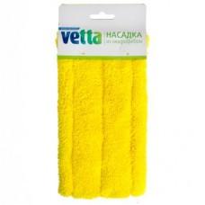 Насадка из микрофибры 40x8см для швабры (444-308) /VETTA /ГЦ